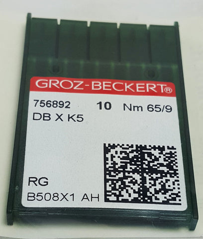 Groz-Beckert 65/9 Sharp Point Needles - pack of 10 - 10-DBXK565