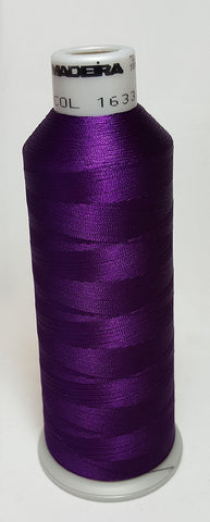 Madeira 918-1633 Purple Passion #40 Embroidery Thread Cone – 5500 Yards