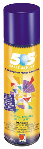 505 SPRAY AND FIX TEMPORARY FABRIC ADHESIVE SMALL