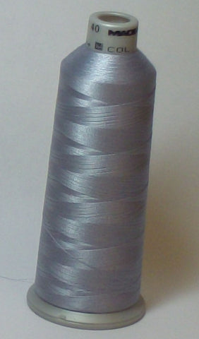 Madeira 918-1611 Smoke Gray #40 Embroidery Thread Cone – 5500 Yards