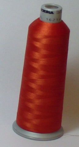Madeira 918-1621 Rust #40 Embroidery Thread Cone – 5500 Yards