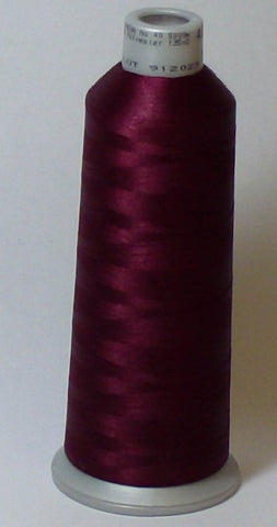 Madeira 918-1635 Burgundy #40 Embroidery Thread Cone – 5500 Yards