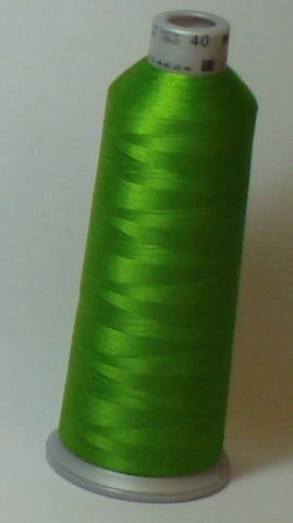 Madeira 918-1649 Granny Smith Green #40 Embroidery Thread Cone – 5500 Yards