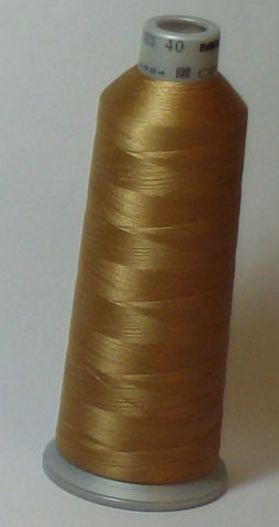 Madeira 918-1673 Khaki #40 Embroidery Thread Cone – 5500 Yards