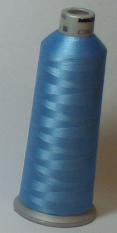Madeira 918-1675 Nordic Blue #40 Embroidery Thread Cone – 5500 Yards
