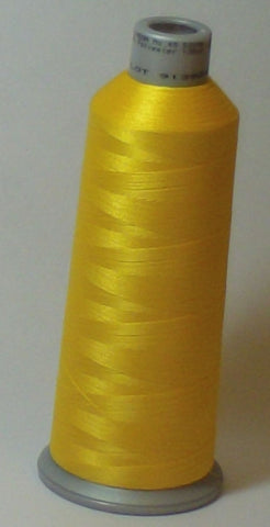 Madeira 918-1683 Lemon Drop #40 Embroidery Thread Cone – 5500 Yards