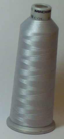 Madeira 918-1687 Sterling Silver #40 Embroidery Thread Cone – 5500 Yards