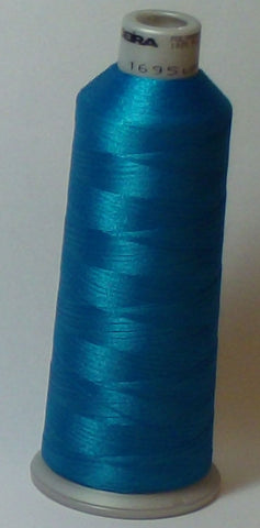 Madeira 918-1695 Cyan #40 Embroidery Thread Cone – 5500 Yards