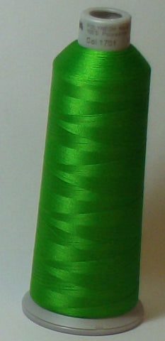 Madeira 918-1701 Spring Green #40 Embroidery Thread Cone – 5500 Yards