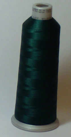 Madeira 918-1703 Fir Green #40 Embroidery Thread Cone – 5500 Yards