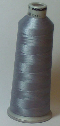 Madeira 918-1718 Overcast Gray #40 Embroidery Thread Cone – 5500 Yards