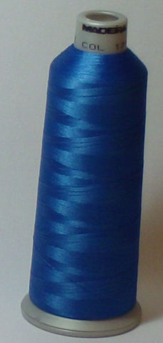 Madeira 918-1733 Blue Jay #40 Embroidery Thread Cone – 5500 Yards