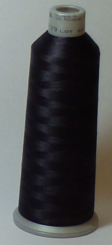 Madeira 918-1739 Charcoal Black #40 Embroidery Thread Cone – 5500 Yards