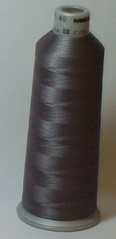 Madeira 918-1741 Gun Metal #40 Embroidery Thread Cone – 5500 Yards