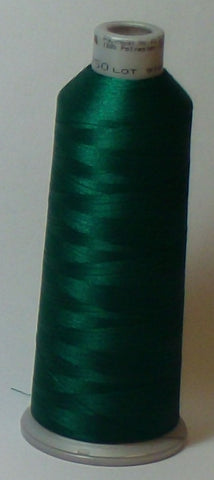 Madeira 918-1750 Christmas Green #40 Embroidery Thread Cone – 5500 Yards