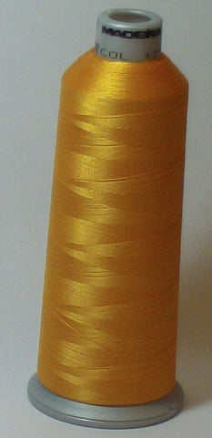 Madeira 918-1771 Whipped Butterscotch #40 Embroidery Thread Cone – 5500 Yards