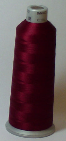 Madeira 918-1784 Merlot #40 Embroidery Thread Cone – 5500 Yards