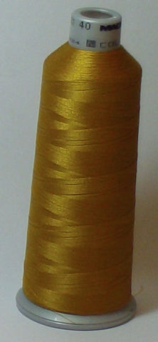 Madeira 918-1792 Old Gold #40 Embroidery Thread Cone – 5500 Yards
