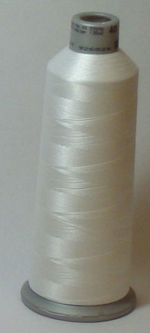 Madeira 918-1802 Snow White #40 Embroidery Thread Cone – 5500 Yards