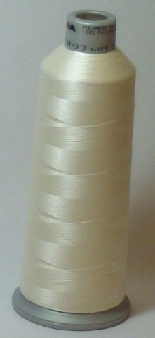 Madeira 918-1803 Creme White #40 Embroidery Thread Cone – 5500 Yards
