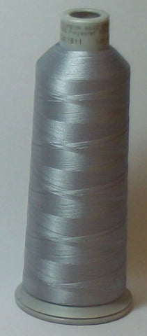 Madeira 918-1811 Chrome #40 Embroidery Thread Cone – 5500 Yards