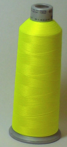 Madeira 918-1823 Fluorescent Yellow Green #40 Embroidery Thread Cone – 5500 Yards