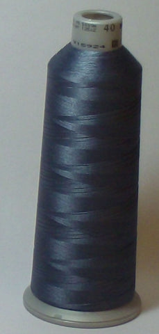 Madeira 918-1840 Cadet Gray #40 Embroidery Thread Cone – 5500 Yards