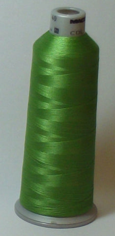 Madeira 918-1848 Lime Green #40 Embroidery Thread Cone – 5500 Yards