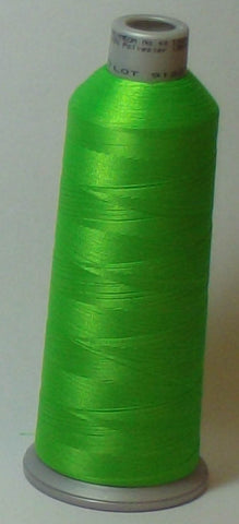 Madeira 918-1850 Fluorescent Green #40 Embroidery Thread Cone – 5500 Yards