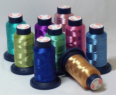 RAPOS 9 Color Metallized Thread Starter Kit
