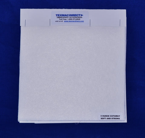 Backing / Stabilizer Sample Booklet - Call 1-855-373-6929