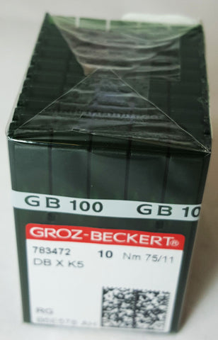 Groz-Beckert 75/11 Sharp Point Needle - Box of 100 - DBXK5-75