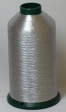 RAPOS-DDS Dark Silver Metallized Embroidery Thread Cone – 5000 Meters
