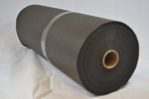2 oz Black Cutaway 14.75″ Sq Perf – 100yd Roll