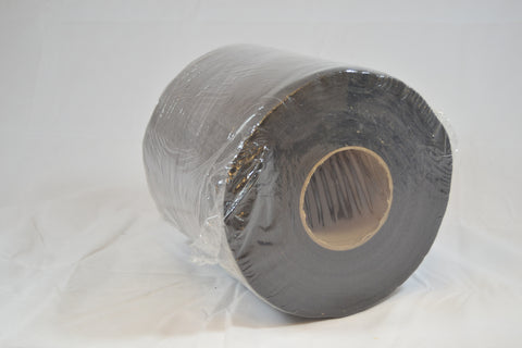 "3 oz Black Cutaway 7.5"" Sq Perf - 150yd roll"