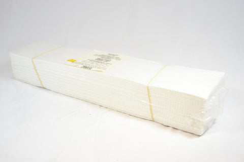 "2.5 oz White Cap Tearaway 4""x19"" Sheets - 250pcs"