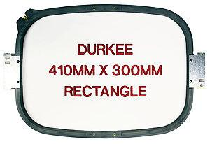 Durkee 410mm x 300mm (16-inch x 12-inch) Tubular Square Hoop