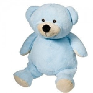 "Blue Bear 16"" Embroiderable"