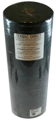 FMB 20x100 Fusible Black Mesh