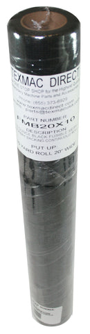 FMB 20x10 Fusible Black Mesh