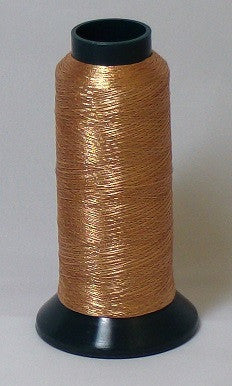 RAPOS-RG2K G31 Copper Metallized Embroidery Thread Cone – 2000 Meters