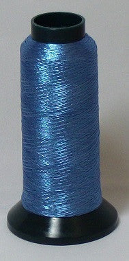 RAPOS-RG2K G34 Light Blue Metallized Embroidery Thread Cone – 2000 Meters