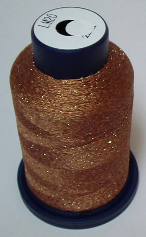 Brown Lame' Stylo Sparkling Embroidery Thread - 1000 Meters LM20