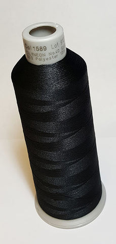 Madeira 918-1589 Gray Black #40 Embroidery Thread Cone – 5500 Yards