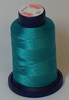 RAPOS-100 Blue Green Embroidery Thread Cone – 1000 Meters R1K 100
