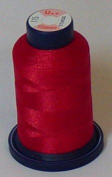 RAPOS-115 Candy Red Embroidery Thread Cone – 1000 Meters R1K 115