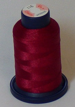 RAPOS-116 Burgundy Embroidery Thread Cone – 1000 Meters R1K 116