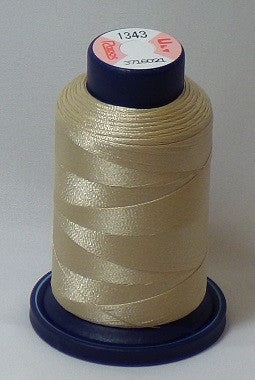 RAPOS-1343 Light Khaki Embroidery Thread Cone – 1000 Meters R1K 1343