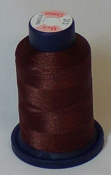 RAPOS-313 Milk Chocolate Brown Embroidery Thread Cone – 1000 Meters R1K 313