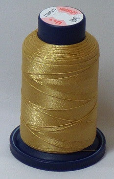 RAPOS-348 Medium Hazy Gold Embroidery Thread Cone – 1000 Meters R1K 348